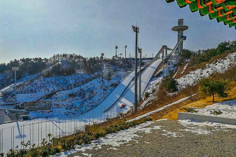 """ski slope at olympics"""