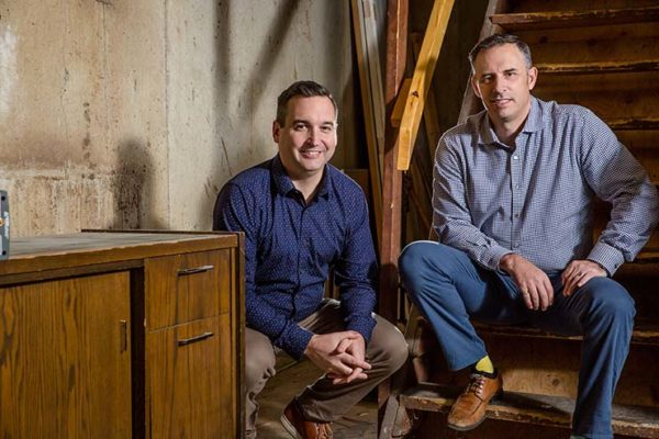 Photo of Lance Miller and Matt Alston Surex Founders