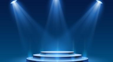 award stage